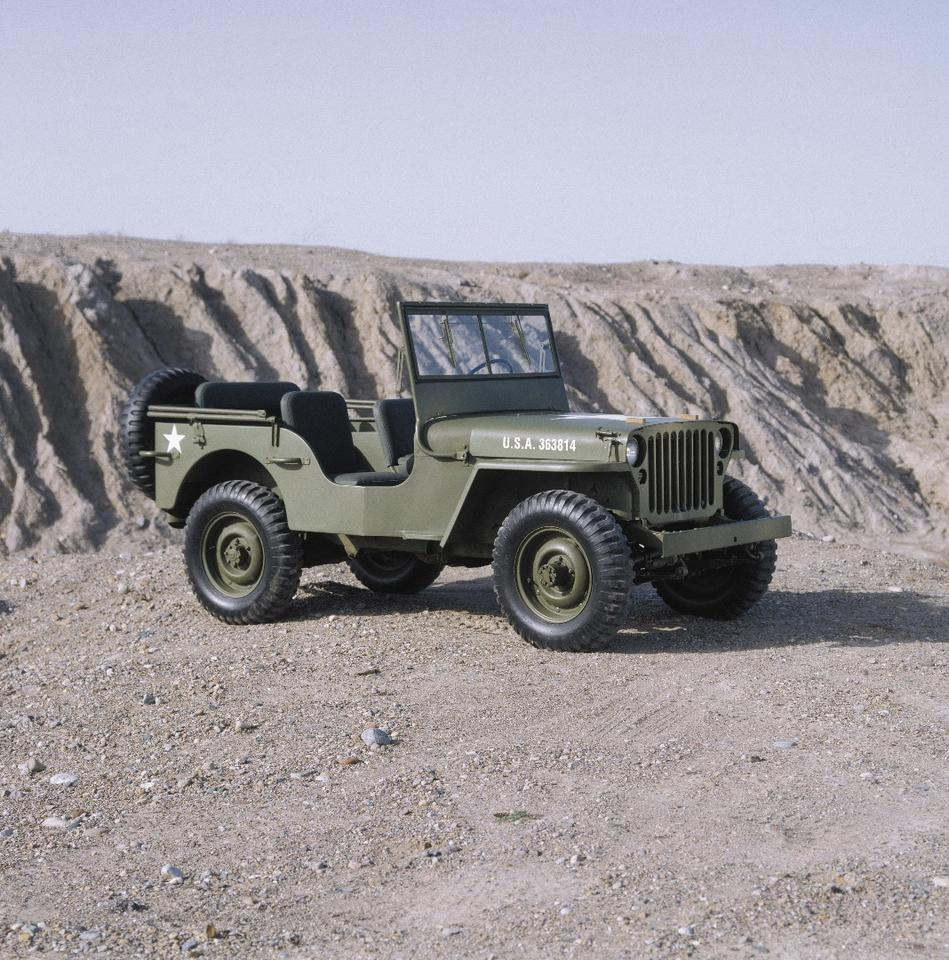 The Wrangler, both in civilian and military forms, has evolved since 1941