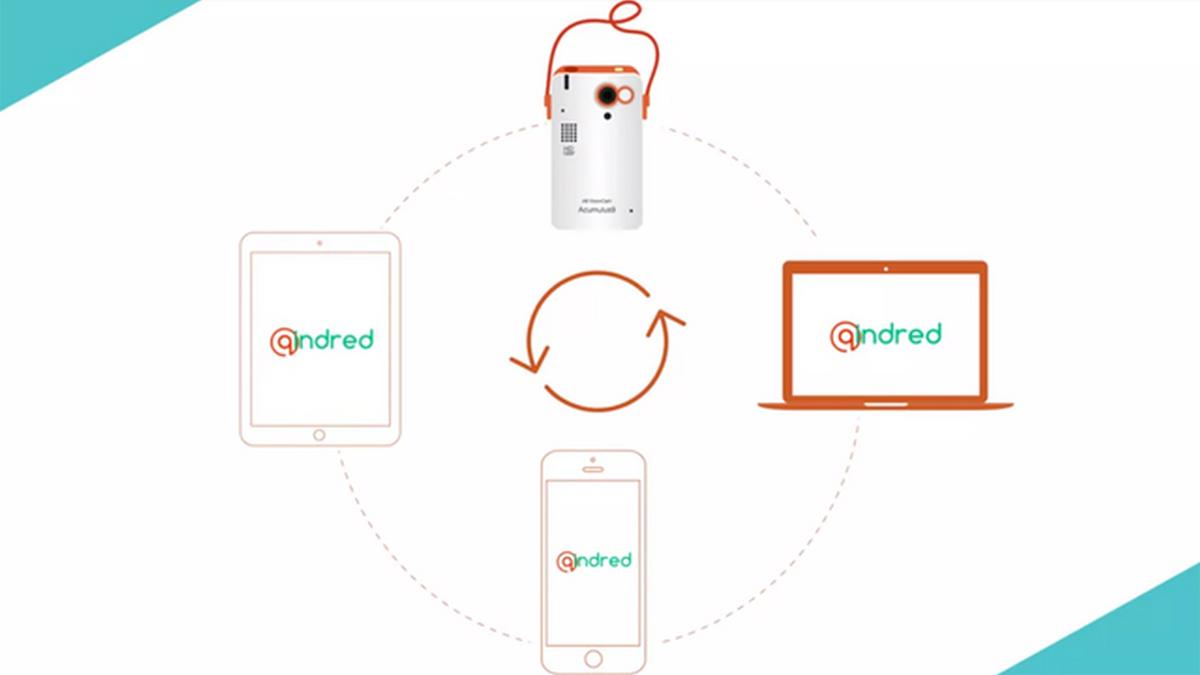 The QindredCam lifelogging camera will upload content to the Qindred cloud service whenever it's connected to Wi-Fi