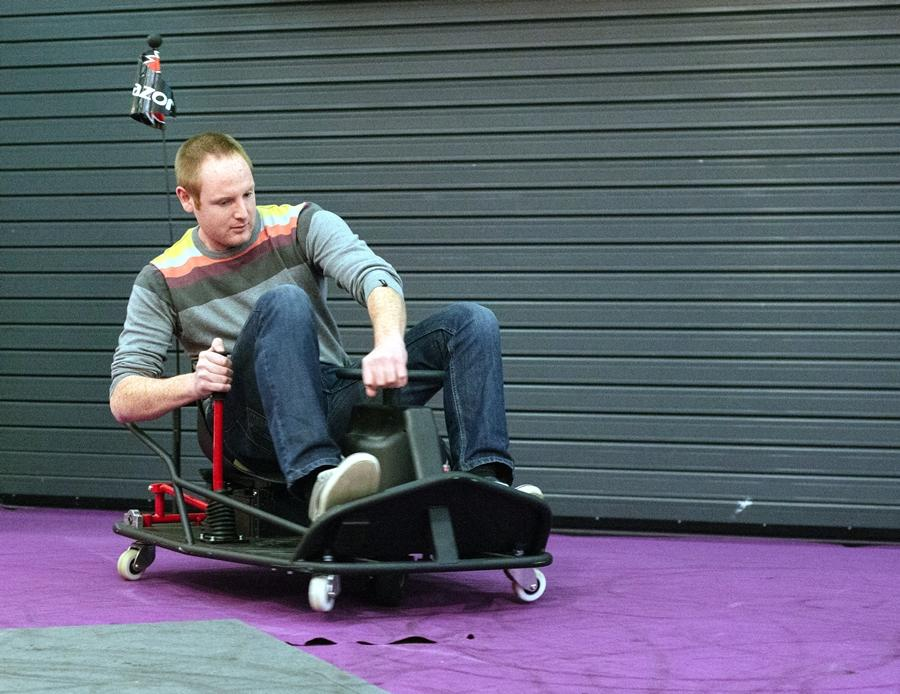 The Crazy Cart XL is a go-cart designed for drifting (Photo: Gizmag/Stu Robarts)