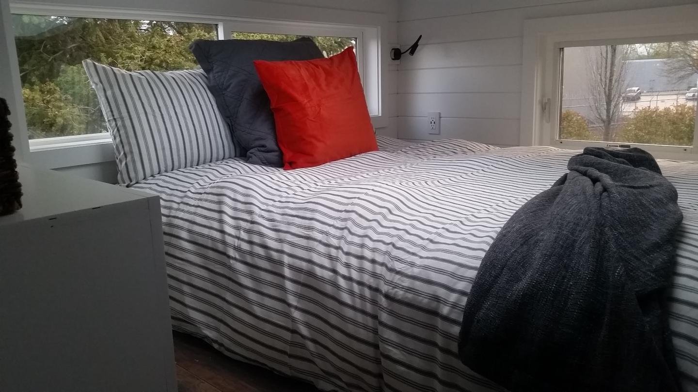 The Covo Mio's bedroom loft