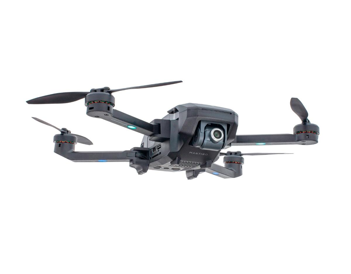 The Yuneec Mantis Q captures4Kvideo and stabilized 1080p and features voice commands and long-endurance batteries