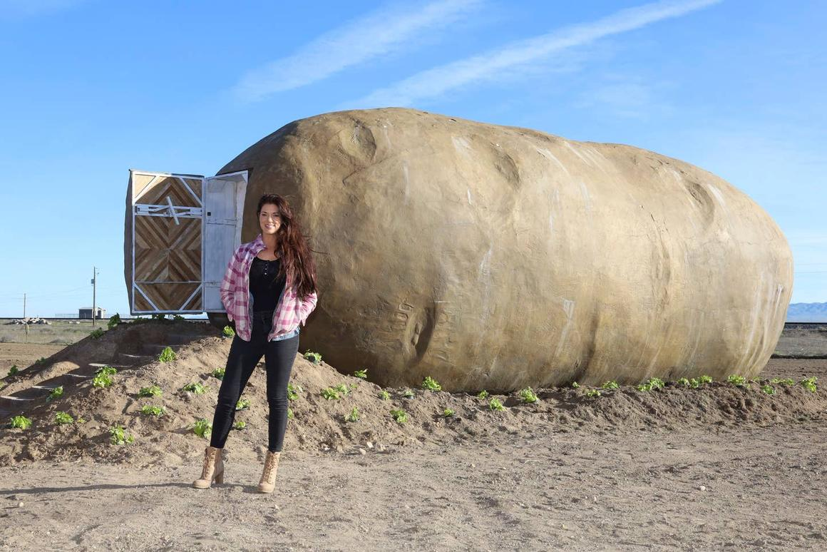 The Big Idaho Potato Hotel is available to rent on Airbnb