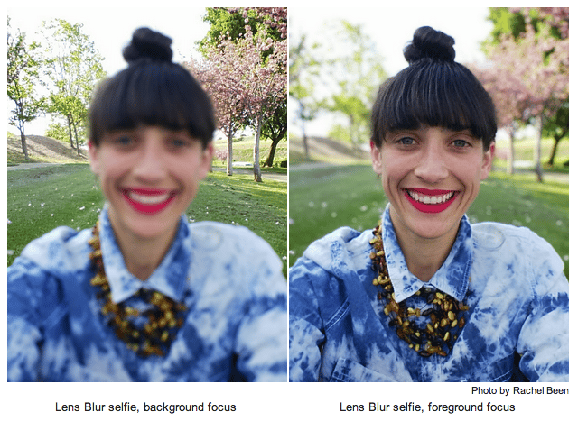 Google Camera's new Lens Blur effect allows you to choose where the shot is focused after taking it.