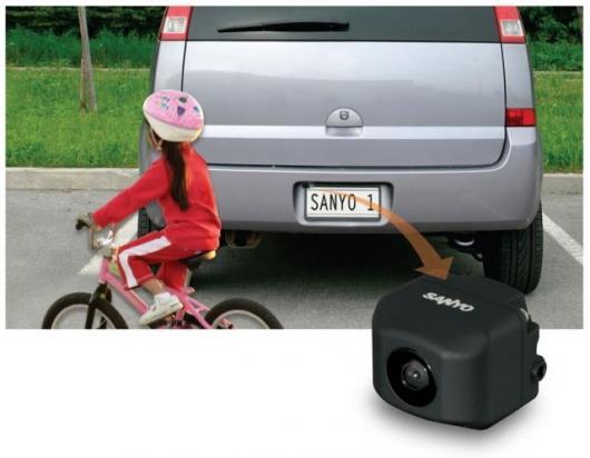 Sanyo's CCA-BC200 rear view backup camera system