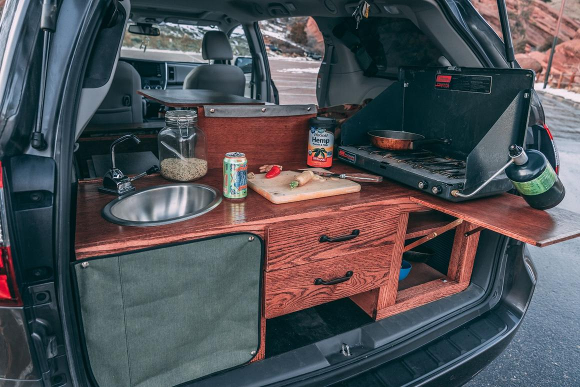 Colorado shop cures wanderlust by turning minivans into cozy