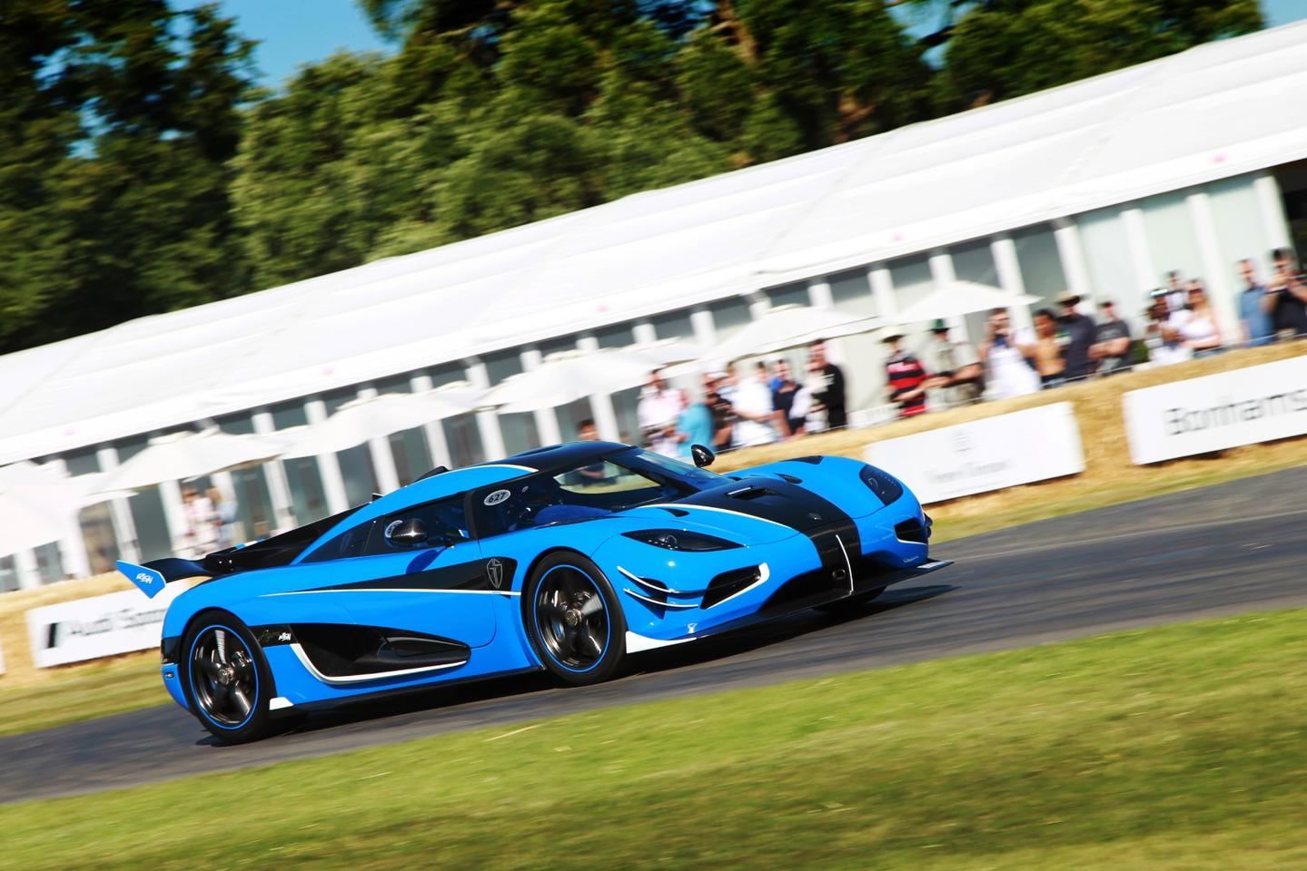 The Koenigsegg Agera RSN