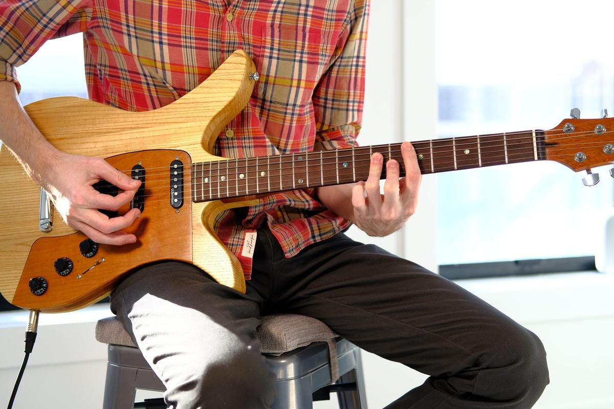 The Phoenix guitar allows for different pickup and tone configurations simply by swapping out the pickup module
