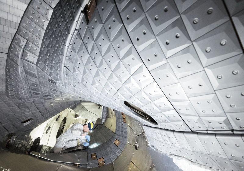 A look inside the Wendelstein 7-X stellarator