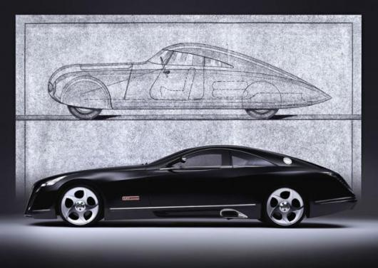 The old and the new - the new vehicle is neither a reprise of the original, nor a retro design from the last century.