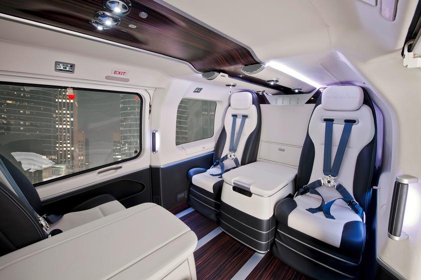 Eurocopter premieres EC145 Mercedes-Benz Style luxury