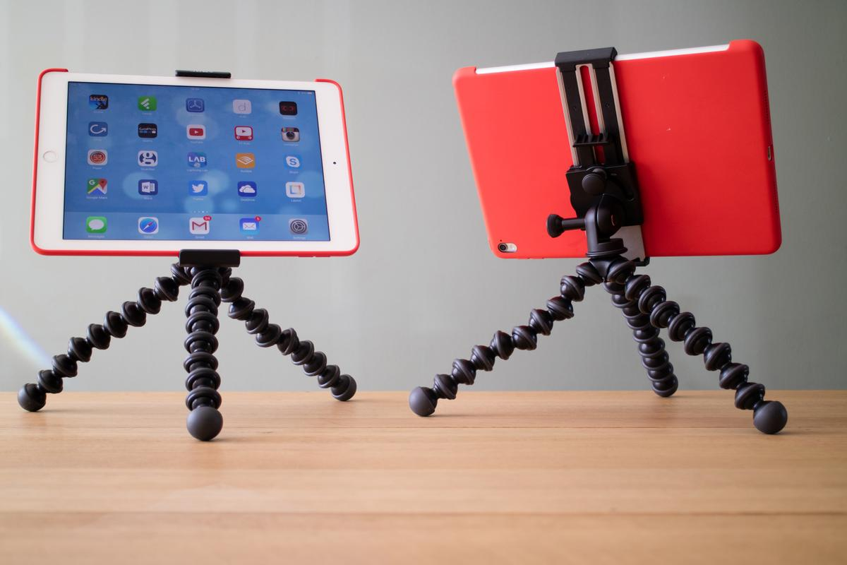 The Joby GripTight GorillaPod Stand Pro for Tablet features a sturdy clamping mount