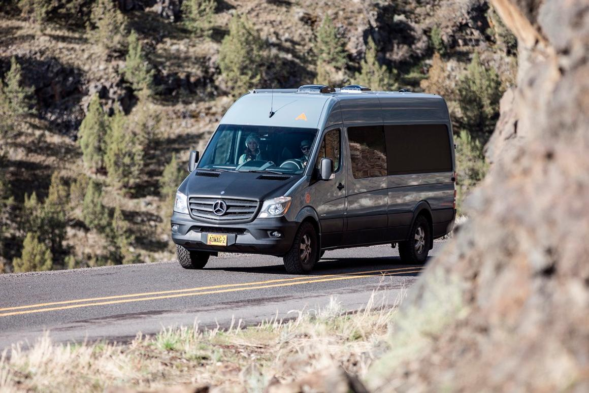 Since Mercedes offers a 4x4 option on the Sprinter,  Adventure Wagon kits can serve as the basis of an all-terrain camper van