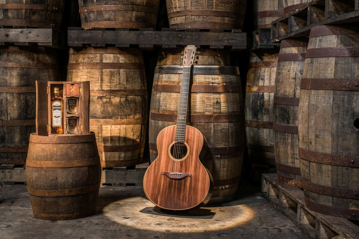 The Bushmills x Lowden F-50 is limited to just eight examples