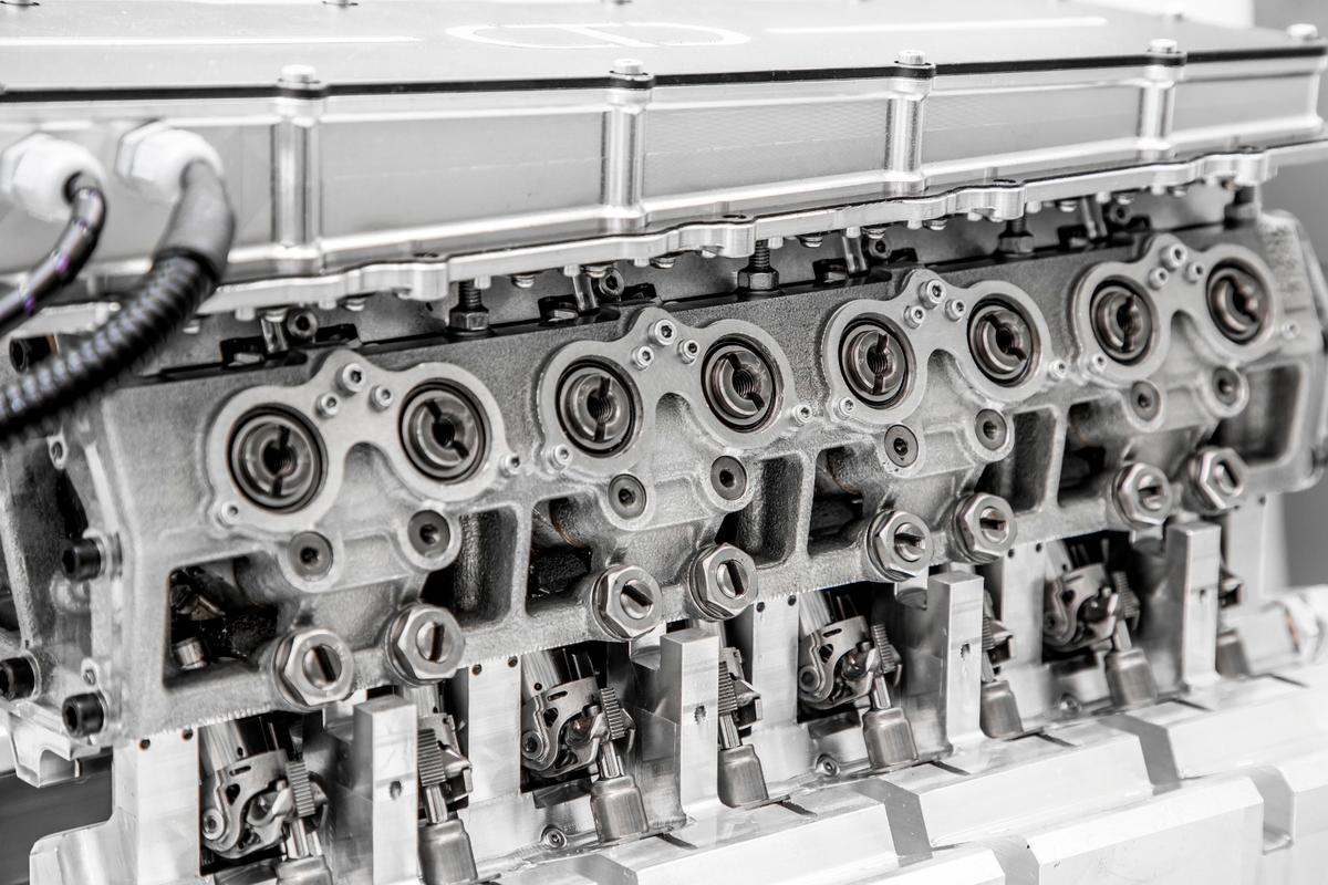 Camcon's Intelligent Valve Actuation system is the world's first fully digital valve system, uncoupled from the crankshaft and using electric actuators for both opening and closing