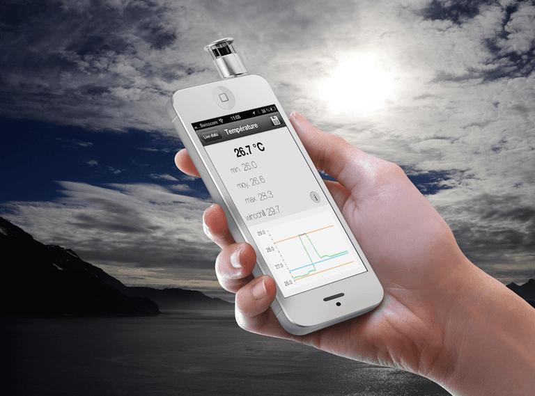 The Skywatch Windoo measures wind and other weather