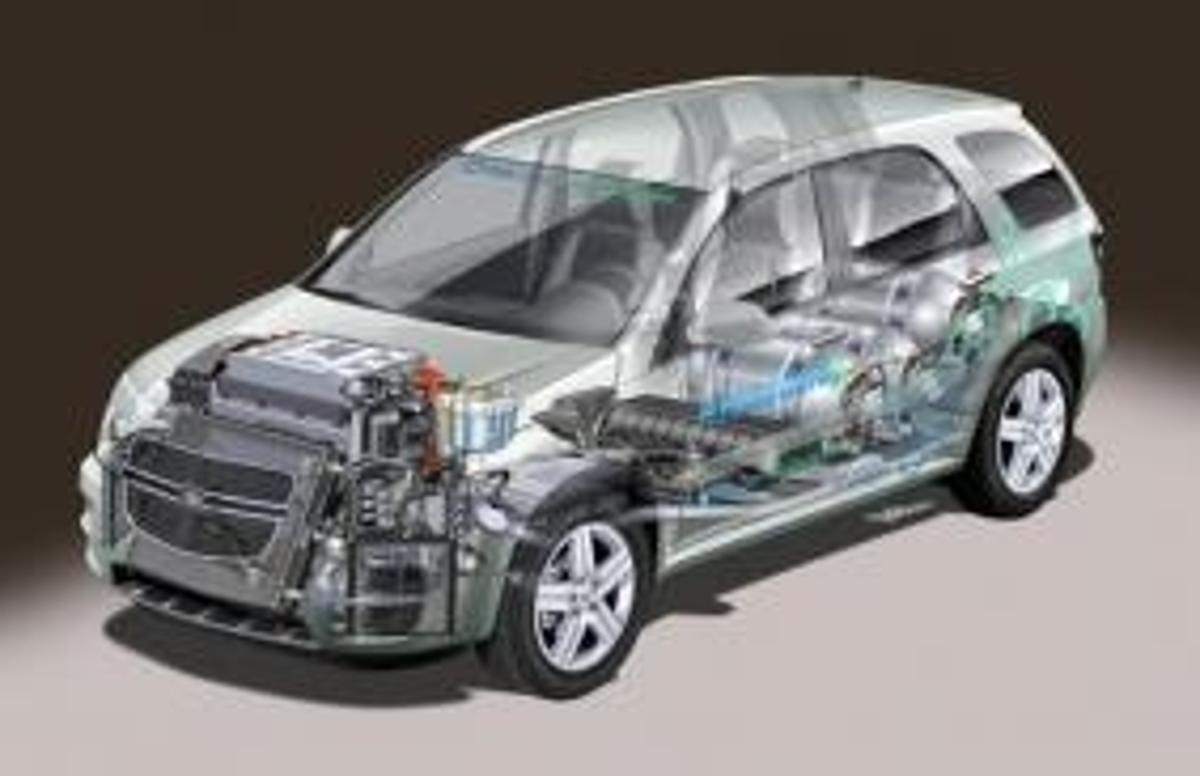 General Motors have released details on stage four of their HydroGen fuel cell vehicle development program