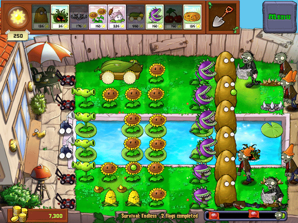 Horticultural-themed zombie defense game Plants vs. Zombies is set to return with a sequel in the first half of 2013