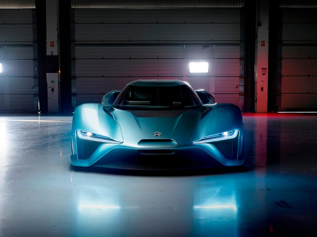 The NextEV NIO EP9 is powered by four electric motors
