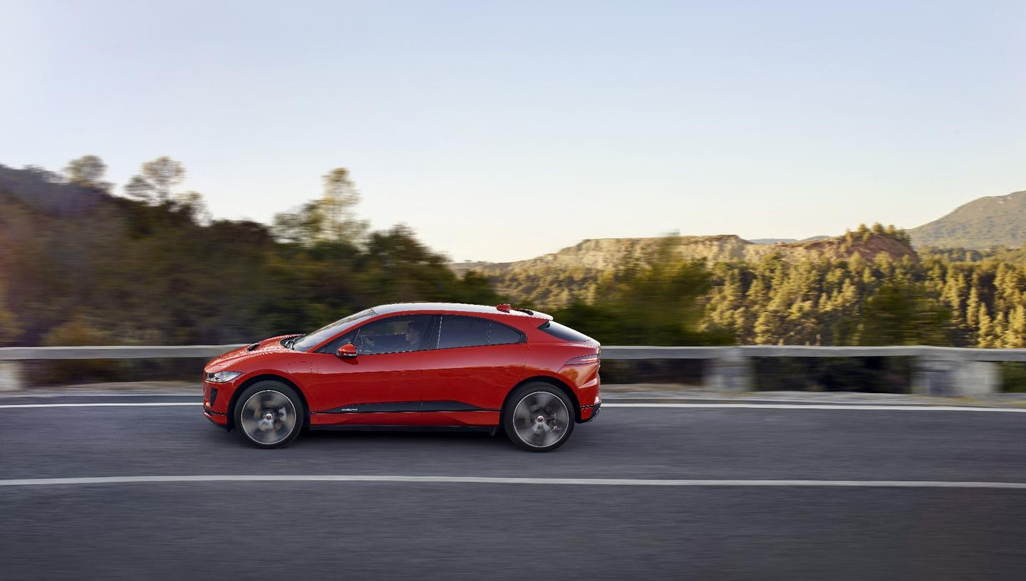 We were certainly impressed with the appearance of the I-Pace when Jaguar first showed it to the world in 2016, and little appears to have changed from concept to production