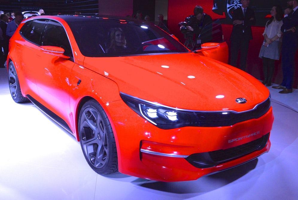 The Kia Sportspace debuts at the 2015 Geneva Motor Show