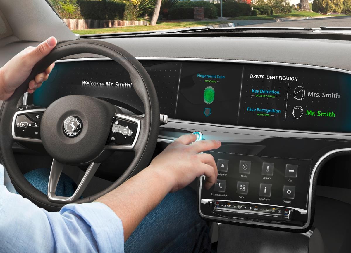 Continental will be showing off its latest in-car tech at CES2017
