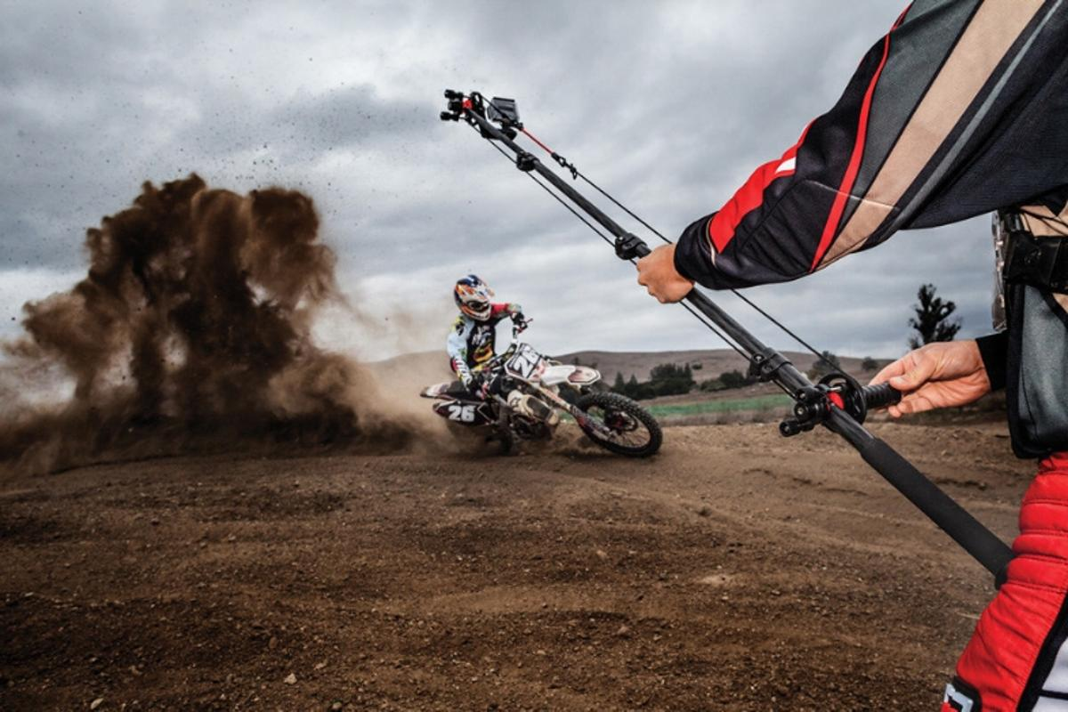 The Joby Action Jib Kit lets action camera users create cinematic-style shots