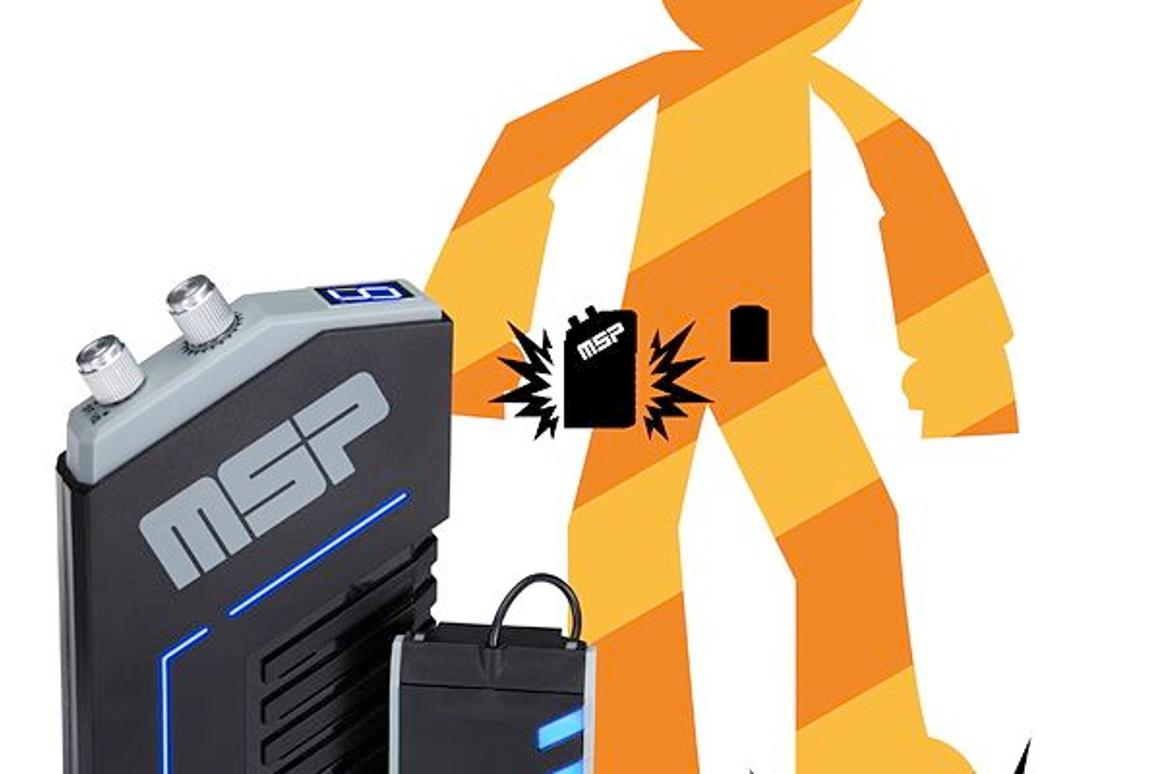 Mega Stomp Panic is an audio accessory for Halloween costumes
