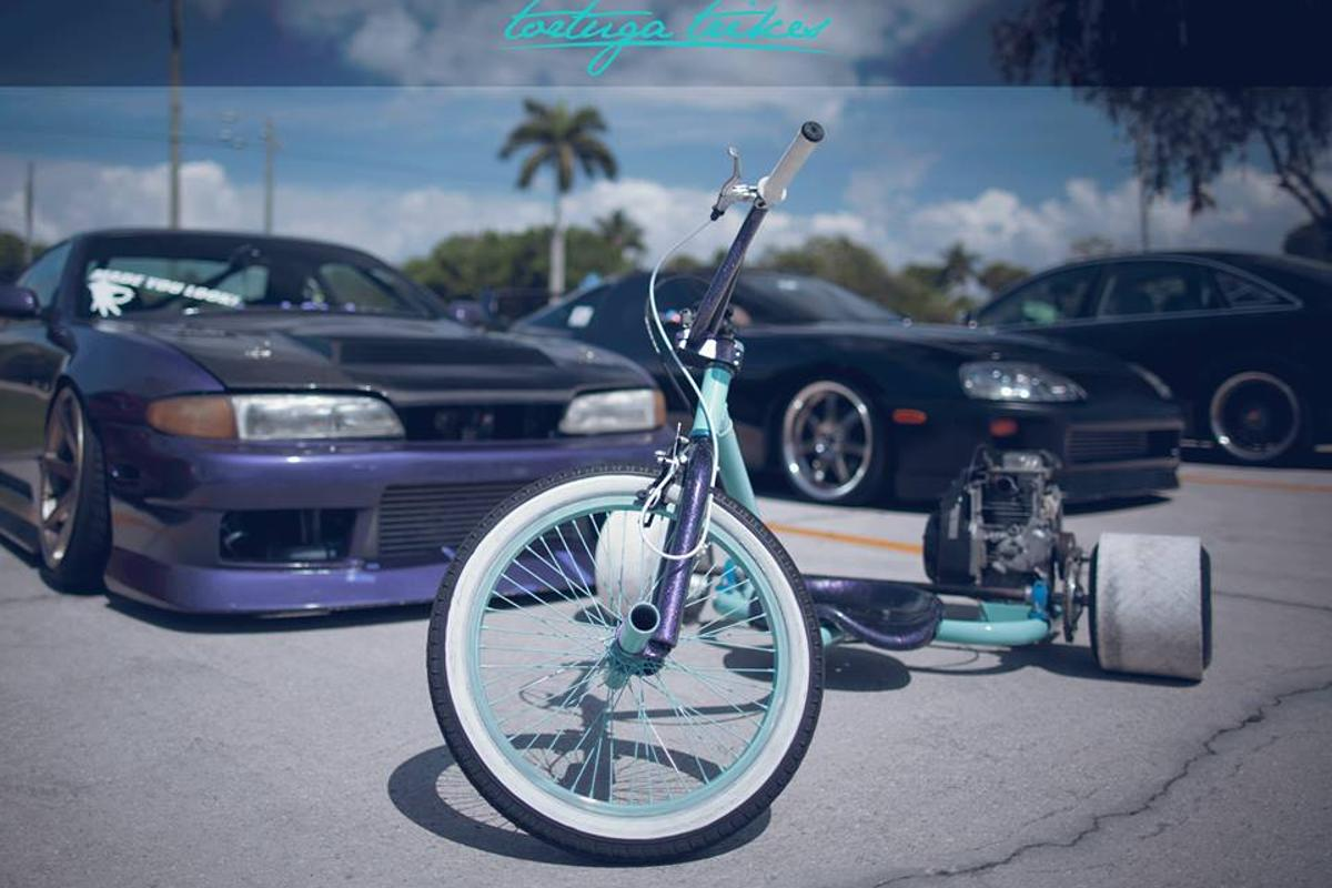 The team behind the Tortuga are looking to take the sport of trike drifting up a notch
