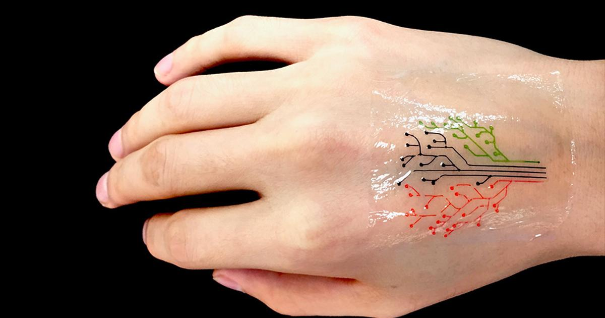 "3D-printed live bacteria creates world's first ""living tattoo"""