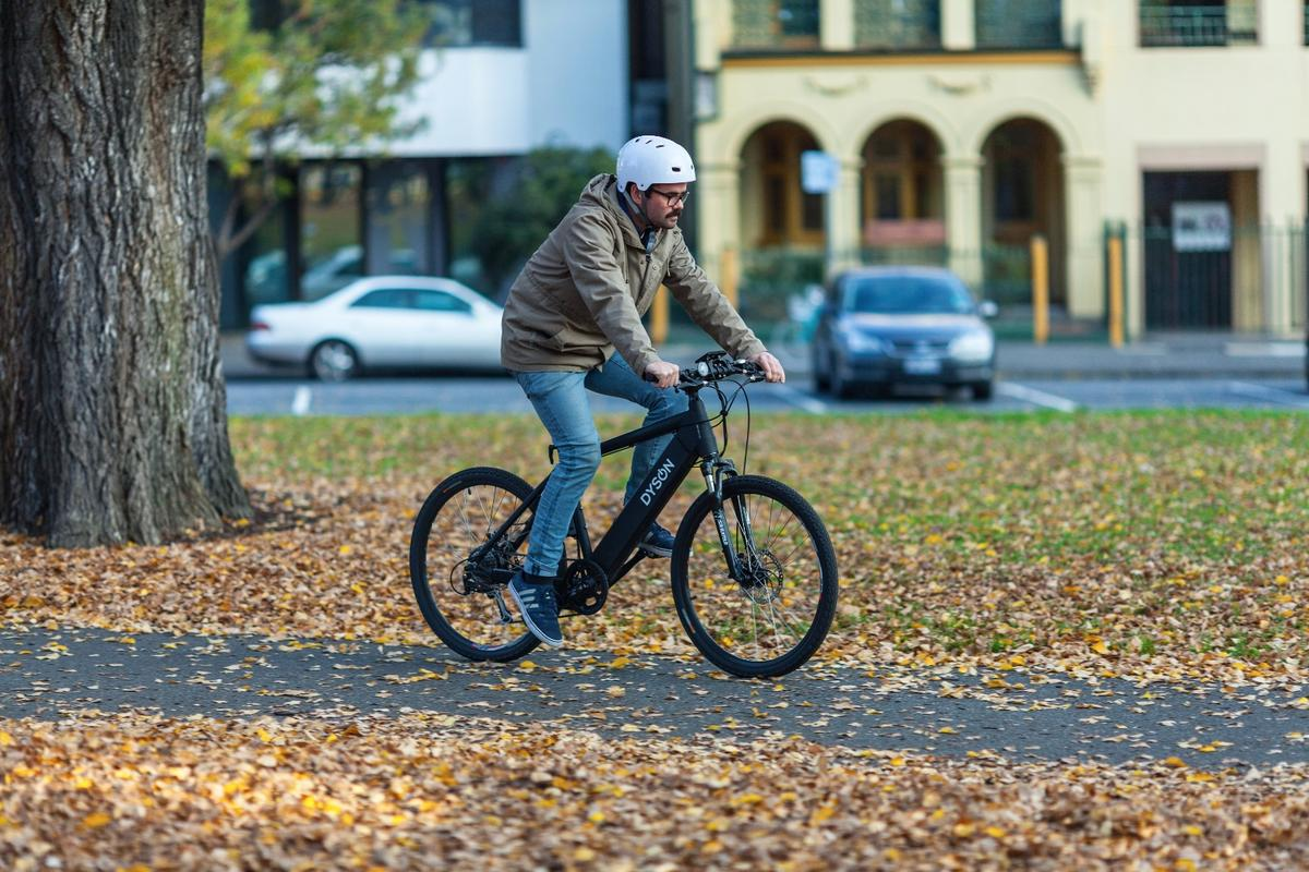 Taking to the streets with the Dyson Hard Tail electric bike