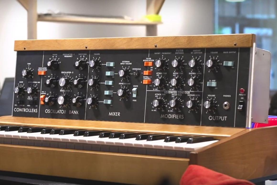 Units are being handbuilt at Moogfest 2016, and are available to buy at the Moog Store