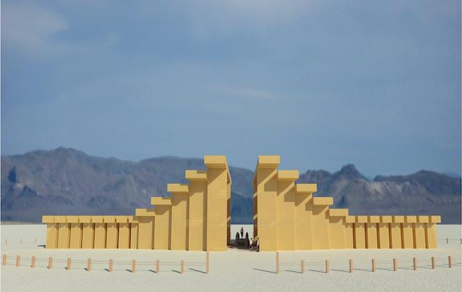 The Temple of Direction for Burning Man 2019
