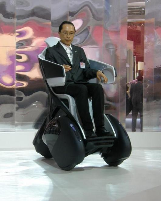 Toyota I-REAL at the Tokyo Motor Show