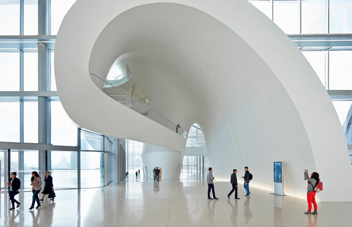 We've written about Zaha Hadid's Heydar Aliyev Centre several times and it remains a magnificent building