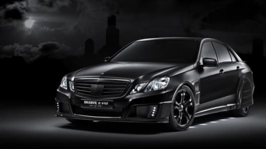 "The Brabus E V12 ""one of ten"""