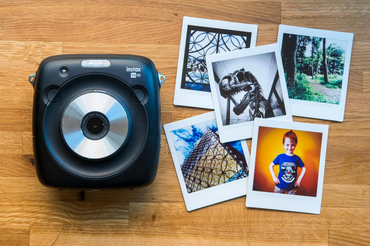 We take the Fujifilm Instax SQ10 digital and instant hybrid camera for a spin
