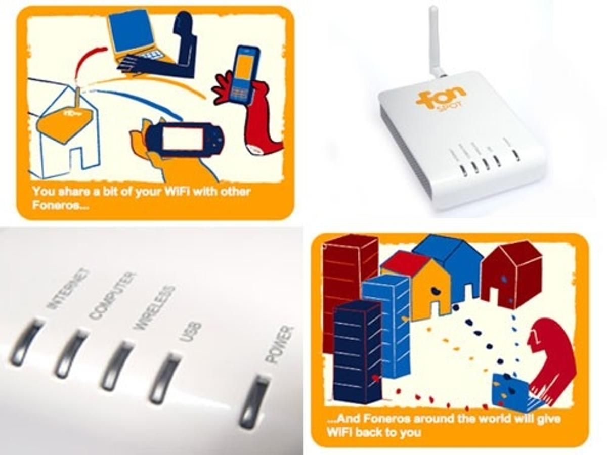 The FON La Fonero 2router