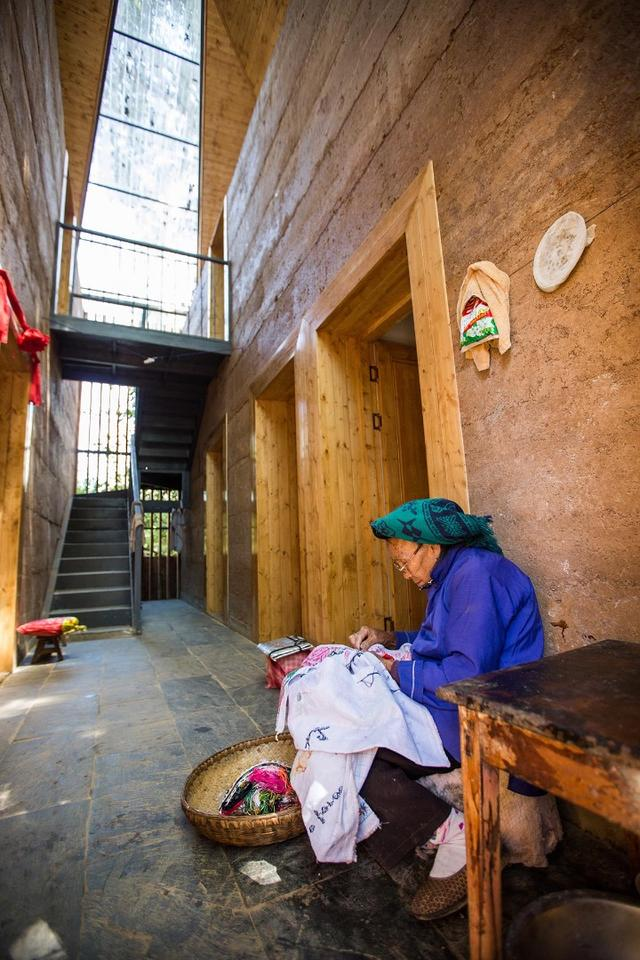 World Building of the Year 2017 supported by GROHE:The Chinese University of Hong Kong, Post-earthquake reconstruction/demonstration project of Guangming Village, Zhaotong, China