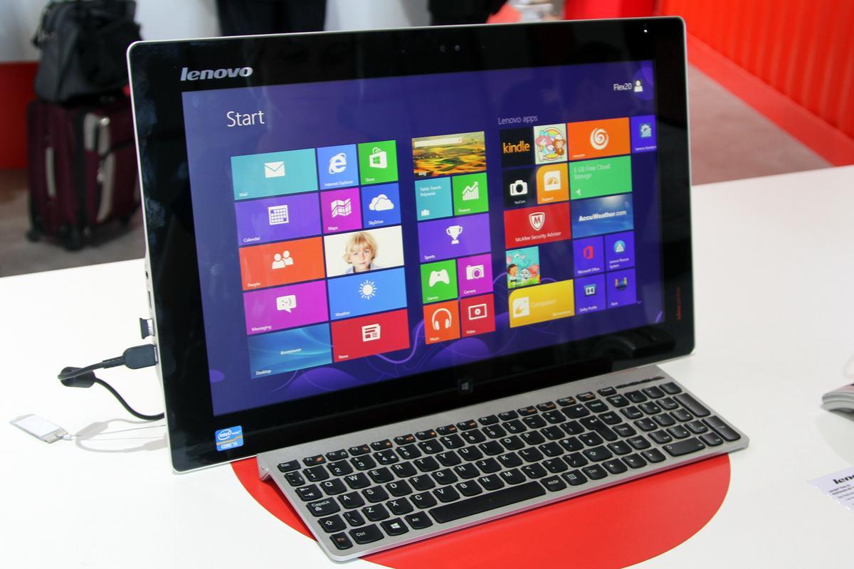 Lenovo's new IdeaCentre Flex 20 All-in-One PC