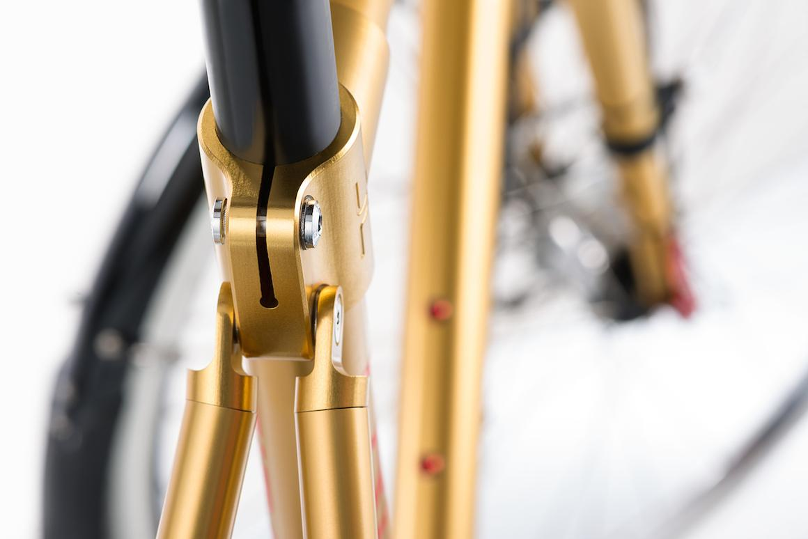 Circa Cycles' aluminum frames incorporate time- and labor-saving MABEL lugs