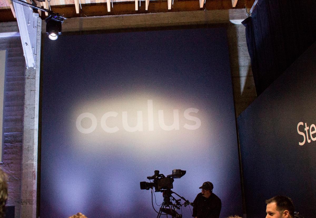 The Oculus Rift launch event