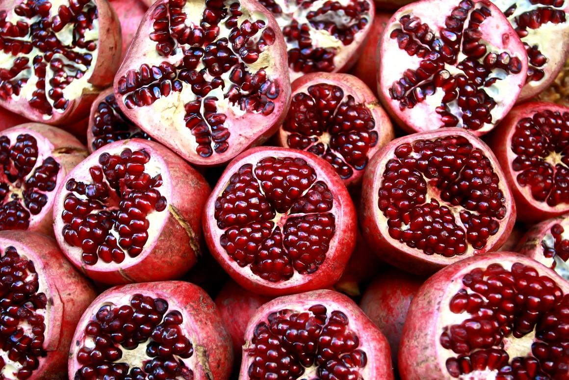 A compound derived from pomegranates appears to be effective at slowing some cellular aging processes in human clinical trials