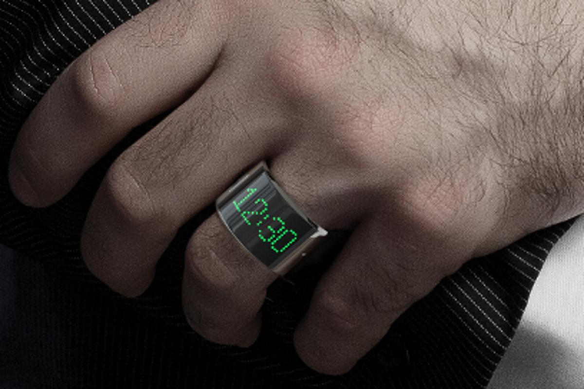 The ring connects to your iOS or Android device - provided it is Bluetooth 4.0 enabled