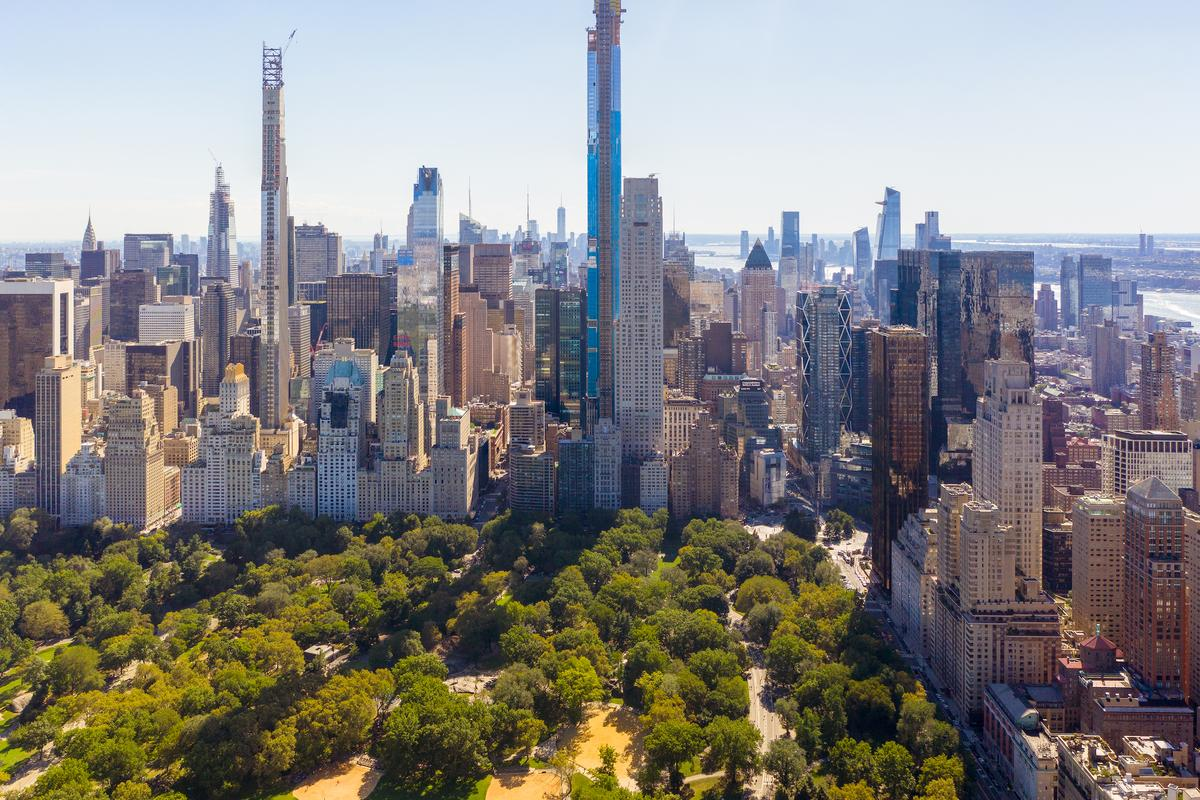 Central Park Tower is the second-tallest skyscraper in the Western Hemisphere