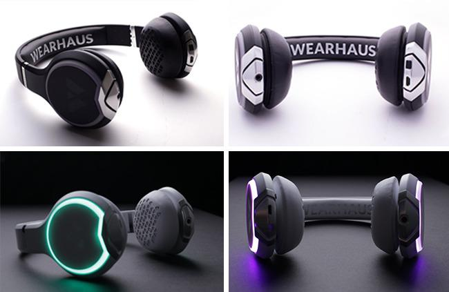 A look at some of the color choices of the new Wearhaus Arc headphone