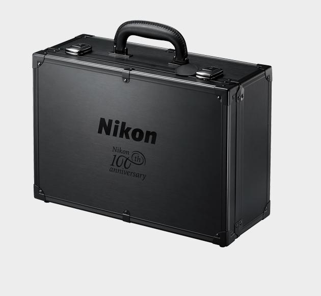 The case you get with the Nikon 100th anniversary cameras