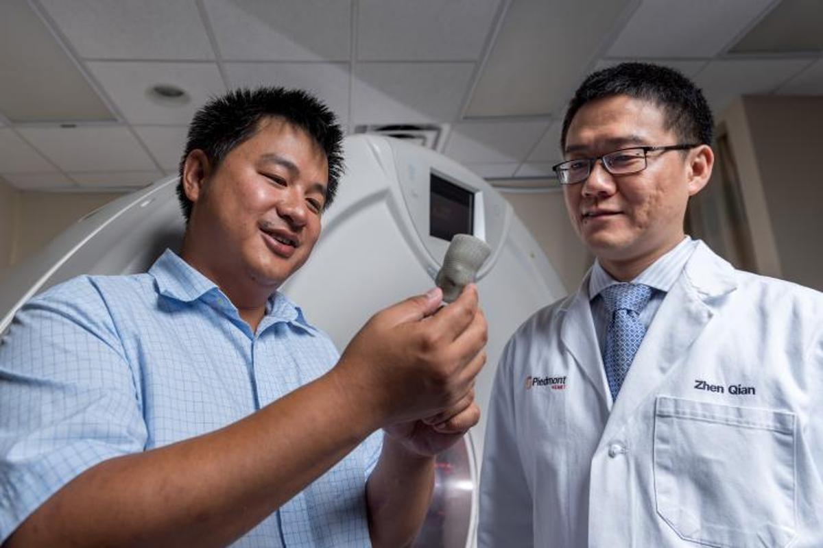 Researchers at Georgia Tech are 3D printing replicas of patients' heart valves, in order to match them with the perfect prosthetic
