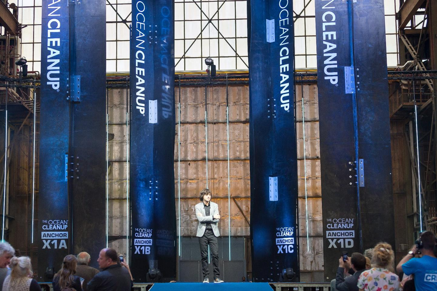 Boyan Slat's 'Next Phase' announcement for his Ocean Cleanup project revealed a new design and a deployment set for 2018, two years ahead of schedule