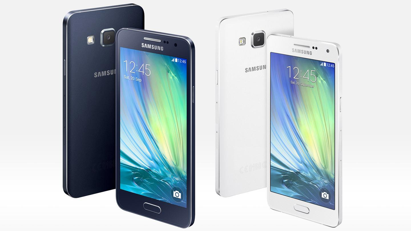 The Samsung Galaxy A3 and A5 are scheduled to arrive first in China this November