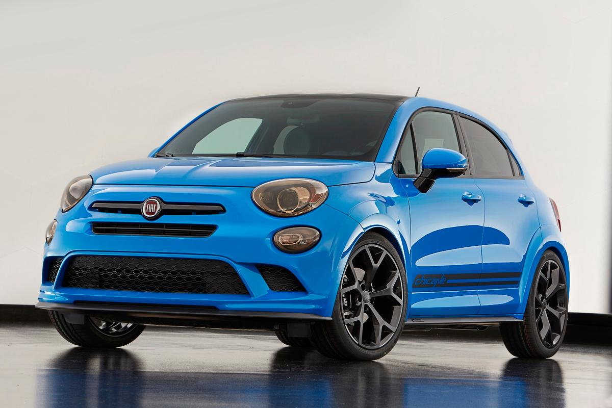 The Fiat 500X Chicane features some very Los Angeles-style street cred changes thanks to Mopar